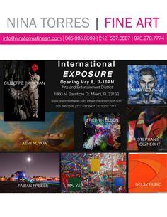 International Exposure Catalog May 2015 at Nina Torres Fine Art MIAMI