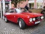 Alfa Romeo GT Bertone (Baujahr 1971, 200ccm, 131 PS) präsentiert bei der 5. Old- und Youngtimerausstellung anl. des  Gaalbernfestes  in 36088 Hünfeld am 24.08.08