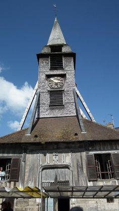 Clocher.église Saint-Catherine.Honfleur. Normandie
