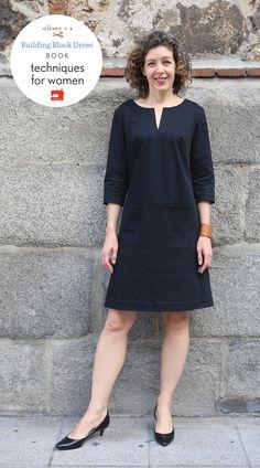 Bistro Dress Altered using Building Block Dress techniques