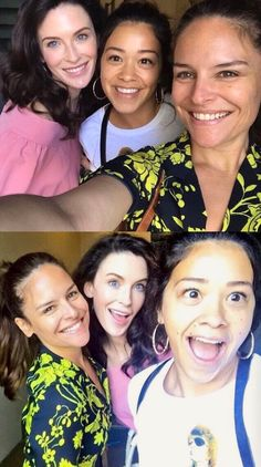 """Sweet Roisa babies taking selfies with """"Jane"""" - Yara Martinez, Bridget Regan and Gina Rodriguez - Jane the Virgin cast Best Tv Shows, Favorite Tv Shows, Movies And Tv Shows, Chicago Fire, Jane And Rafael, Good Girl Quotes, Grey's Anatomy, Jane And Michael, Justin Baldoni"""
