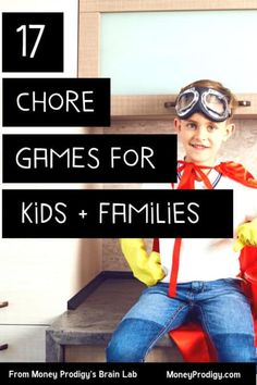 These 17 chore games turn household chores into memories! Pick and choose family chore games that will instantly become a fun family tradition in your home. Chores For Kids By Age, Games For Kids, Toddler Chores, Boy Toddler, Parenting Teens, Parenting Hacks, Natural Parenting, Peaceful Parenting, Gentle Parenting