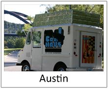Cool Haus Icecream sandwich  truck, Austin.