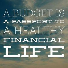 Budget=Healthy Finances