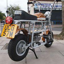 1974 Fantic TX7 50cc Classic Vintage Ultra Rare Mini Monkey Bike Fully Restored