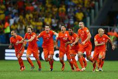 Het Nederlands elftal heeft de halve finale bereikt!