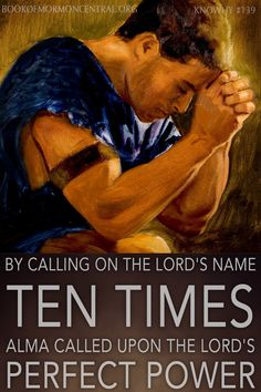 """Alma, the high priest, repeats """"O Lord"""" ten times while praying with his missionary companions, just like the high priest on the Day of Atonement in Judaism."""