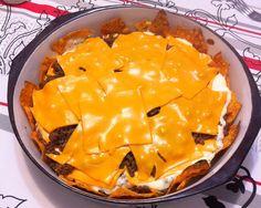 Torta de Doritos. | 17 receitas com cheddar que farão você perder a cabeça