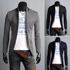 Blazer Tunique Slim Fashion Hommes http://www.fashionaccess.fr