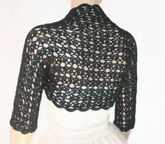 Wedding Bridal Bolero Shrug Lace Crochet Shrug Boleros silk