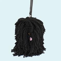 Silky cord Puli purse