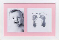 Framed Baby Footprints Idea