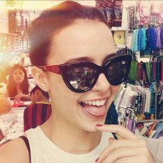 Yassi Pressman - Cute Smile :) )P Yassi Pressman, Girl Crushes, Role Models, Cat Eye Sunglasses, Dancer, Idol, Celebs, Smile, Actresses