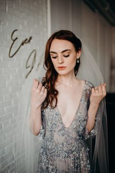 This Ever After Inspired Elopement at Paisley & Jade is Equal Parts Edgy + Romantic | Junebug Weddings