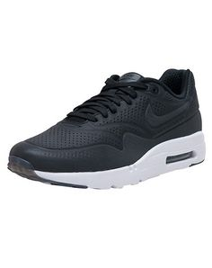 503fdbd3cf1 NIKE Low top men s sneaker Lace up closure Nubuck suede body Perf  throughout for ventilation Padded