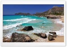 Falasarna Beach HD Wide Wallpaper for Widescreen