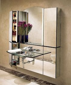 """Robern MPM24AP Arch Wall Mirror 24""""W x 43-3/8""""H, Plain Edge by Robern. $530.71. Robern MPM24AP Arch Wall Mirror 24""""W x 43-3/8""""H, Plain EdgeRobern was founded in 1968 and is the leader in bath storage solutions. Robern seeks to pioneer and promote the development of the personal vanity environment, by providing personal choice, stylish designs and innovative features for consumers.Robern MPM24AP Arch Wall Mirror 24""""W x 43-3/8""""H, Plain Edge Features:; Can be mounted between gan..."""