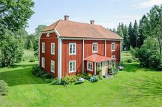 This Old House, Sweden House, Red Houses, House In Nature, Red Cottage, Vernacular Architecture, Red Barns, My Dream Home, House Tours