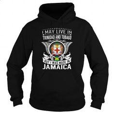 Jamaica Trinidad and Tobago - Born Live - #funny hoodies #hoodie sweatshirts. SIMILAR ITEMS => https://www.sunfrog.com/States/Jamaica-Trinidad-and-Tobago--Born-Live-Black-Hoodie.html?id=60505