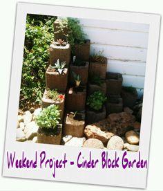 cinder block garden | Tumblr