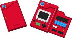 The original Pokedex design featured in the generation of Pokemon games set in the region where it all started: Kanto. Pokemon Pokedex, Pokemon Firered, Pokemon People, Pikachu, Pokemon Games, Mythical Pokemon, Cool Pokemon Cards, Paw Patrol Toys, Doraemon Cartoon