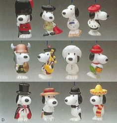 find this pin and more on snoopy christmas ornaments by vince