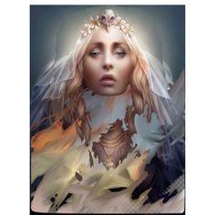 """Veiled Portrait"" by village-poet"