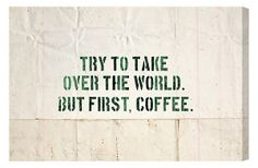 This is a good agenda for the day! #Coffee #MrCoffee