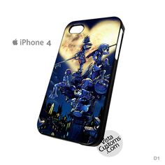 Kingdom Hearts Phone Case For Apple, iPhone 4, 4S, 5, 5S, 5C, 6, 6 +, iPod, 4 / 5, iPad 3 / 4 / 5, Samsung, Galaxy, S3, S4, S5, S6, Note, HTC, HTC One, HTC One X, BlackBerry, Z10