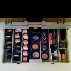3rd drawer shadow bases, gel liners, pigments etc