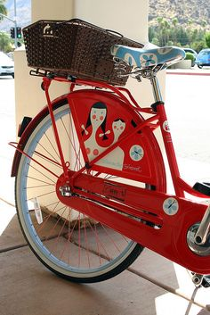 Alexander Girard Bike!  Who is this guy and why is he so cool?