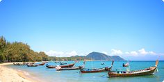 Rawai Beach, Phuket. Went there to the pearl farm on Ped's boat!!!
