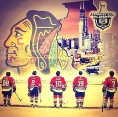 2014 Stanley Cup Playoffs... Go Hawks!!!