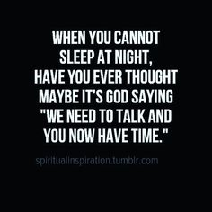 God's trying to tell you something.