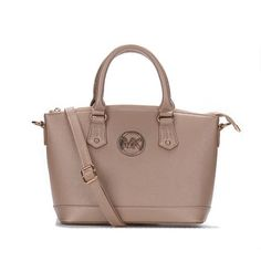 Perfect Michael Kors Bedford Logo Medium Apricot Totes, Perfect You
