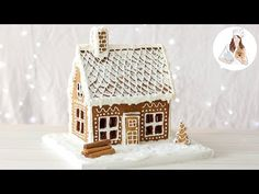 How to make a Gingerbread House Recipe from scratch. A Christmas recipe, everything from the Gingerbread House Recipe, the Gingerbread House Template and the. Royal Icing Gingerbread House, Gingerbread House Template, Gingerbread Dough, Christmas Gingerbread House, Christmas Holidays, Gingerbread Houses, Christmas Houses, Christmas Crafts, Gingerbread Decorations