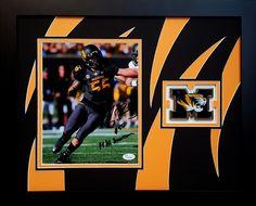 Shane Ray. Mizzou. University of Missouri. Custom framed 8x10 autographed photo.
