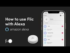How to use Flic with Alexa - YouTube Alexa Commands, Alexa App, Search Icon, Amazon Echo, Strip Lighting, Smart Home, Being Used, Ads, This Or That Questions
