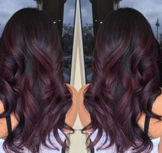 Burgundy swirls