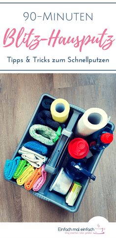 If you do not have a cleaning plan, then you can regularly and quickly ensure order and cleanliness throughout the house with quick plaster. With only 10 minutes cleaning per room! Here you will find all tips and tricks for quick cleaning. and Tricks Home Organisation, Diy Organization, House Cleaning Tips, Cleaning Hacks, Genius Ideas, Home Repair, Getting Organized, Declutter, Housekeeping