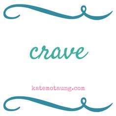 craving connection :: a new book! {five minute friday :: crave}