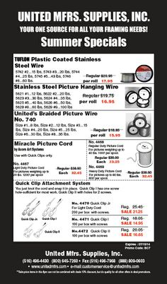 """Check Out Our Summer Specials!! Use Promo Code """"BC7"""" Spring Specials will be available to view on our Website. Deals expire on July 15,2014."""