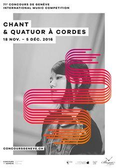 Geneva Music Competition Branding by The Workshop | Inspiration Grid | Design Inspiration