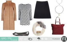 The daily forecast for November includes a stunning palette of camel and red with faux fur and pewter metallic pumps! Daily Weather, Metallic Pumps, Fashion Forecasting, Pewter Metal, Camel, Faux Fur, November, Palette, London