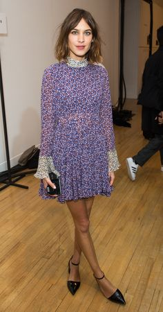 British beauty Alexa Chung has long been a fan of Sixties-style mini dresses paired with flat pumps or laid-back brogues. We chart the fashion icon's strongest variations on a theme that is just perfect for the summer months. Do try this at home.