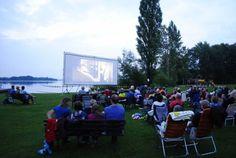 Großes Kino am Schaalseestrand