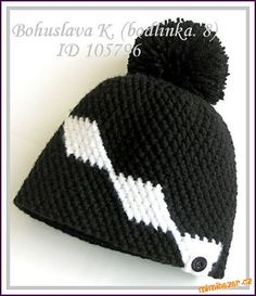Jelikož návody psát bohužel neumím, napíši alespoň zjednodušený popis vzorečku...:-)<br><br>Je to ce... Winter Hats, Crochet Hats, Beanie, Fashion, Caps Hats, Knitting Hats, Moda, La Mode, Fasion