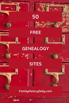 Here are 50 no-cost family history resources where you will find birth, marriage and death records, obituaries, cemetery listings, newspaper articles, biographies, research tips and so much more. Free Genealogy Sites, Genealogy Search, Family Genealogy, Genealogy Organization, Family Tree Chart, Family History Book, Family Roots, Ancestor Search
