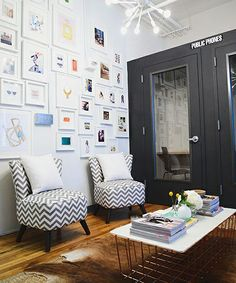 Tour This Start-Up's Stylish Office Revamp #refinery29  http://www.refinery29.com/keep-office-tour