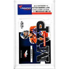 Peyton Manning Denver Broncos Fanatics Authentic Autographed 2012 Contenders #5 Card with 2013 NFL MVP Inscription - $199.99